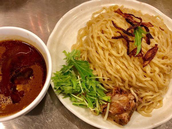 「カレーつけ麺(大)」@まんねんカレーの写真