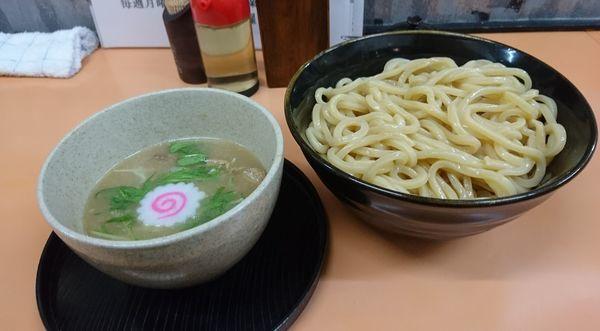 「塩つけめん」@麺道 奉天の写真