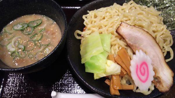 「魚介醤油つけ麺」@いっちゃん亭の写真