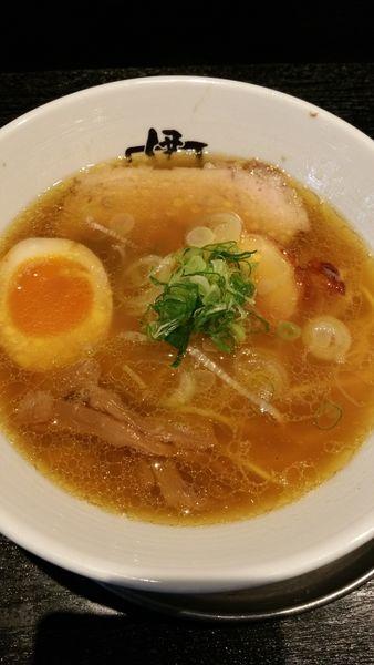 「伊駄天醤油らー麺」@麺行使 伊駄天 静岡店の写真