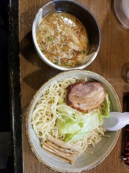 「暖つけめん(麺2玉)」@三角屋 暖 -DAN-の写真