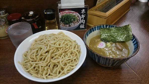 「つけ麺煮番搾り・大盛(あつ盛) ¥950」@つけめん 三三㐂の写真