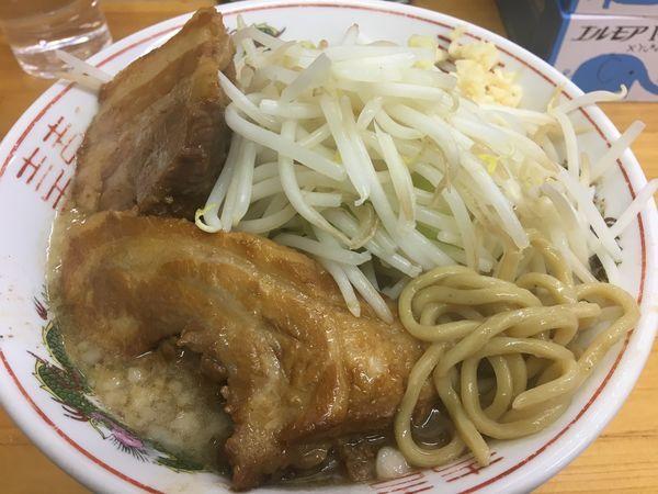 「豚入りラーメン880円」@ラーメン 龍郎の写真