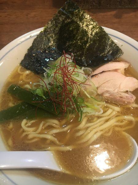 「鶏そば¥700」@らぁめん 欽山製麺所の写真
