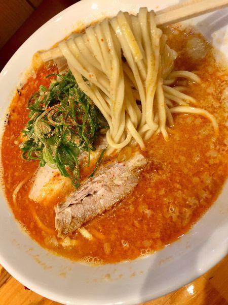 「辛味噌ラーメン」@麺や 花よの写真