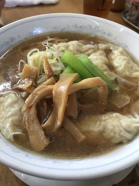 「ワンタン麺」@MENYA 食い味の道有楽の写真
