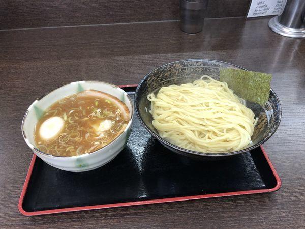 「特つけ麺(醤油 あつもり)」@喜奴屋の写真