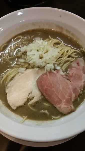 「濃厚煮干し」@麺屋AMOREの写真