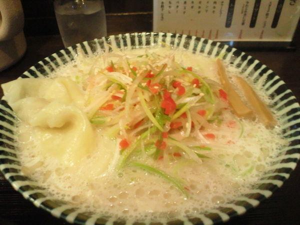 「鶏生姜ラーメン 830円」@めんや 薫寿の写真