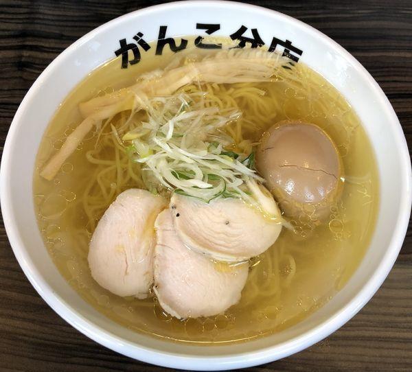 「塩・鶏+味玉(¥800+¥100)」@元祖一条流がんこ 総本家分店の写真
