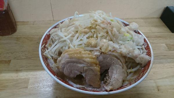 「味噌ラーメン・大(ヤサイアブラ)¥950」@ラーメン 登良治郎の写真