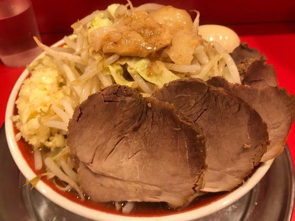 「小ラーメン 豚入り 味付玉子」@ラーメンタロー 五反田の陣の写真