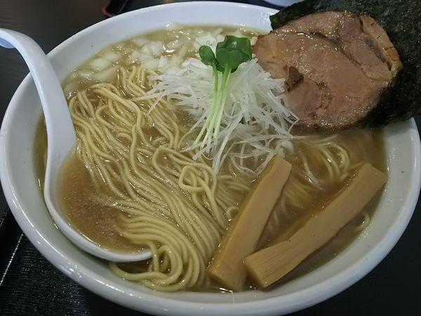 「らーめん 煮干し濃度:普通(標準) (麺大盛り:サービス券)」@煮干しらーめん専門店 麺屋 晴の写真