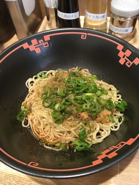 「汁なし担々麺 2辛」@汁なし担担麺専門 キング軒 銀座出張所の写真