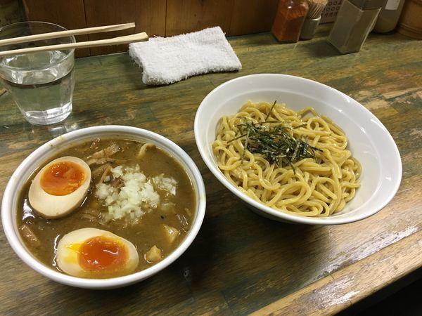 「つけ麺大盛りたまご」@藍華の写真