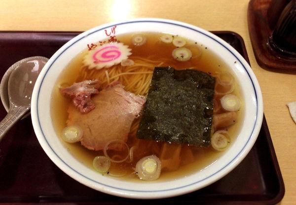 「ラーメン(450円)」@京島やぶ成の写真