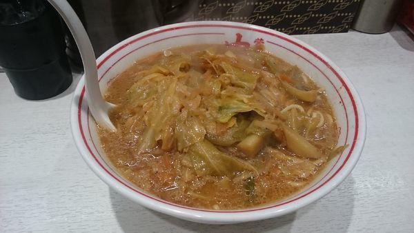 「味噌タンメン・大盛 ¥840」@蒙古タンメン 中本 川崎店の写真