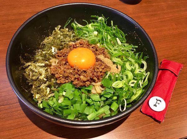 「台湾まぜそば」@麺屋 つばき 寺田町店の写真