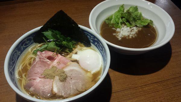 「【限定】釜揚げ カキのカレーつけ麺990円」@寿製麺よしかわ 川越店の写真
