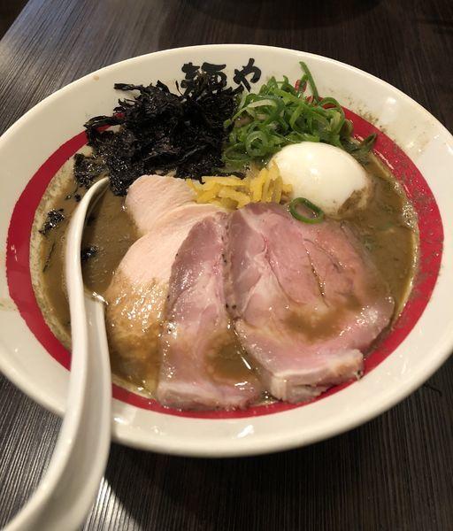 「[限定]  濃厚牡蠣そば ¥1000 他」@麺や でこの写真