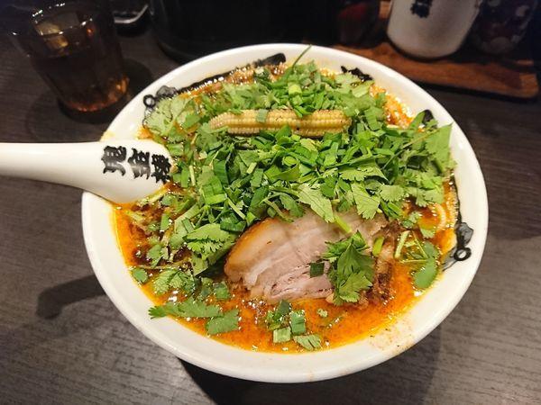 「肉増しカラシビ味噌ラーメン」@カラシビ味噌らー麺 鬼金棒の写真