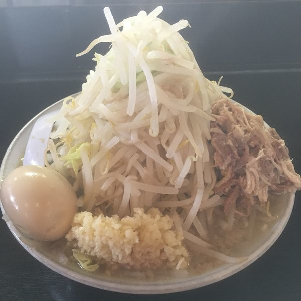 「ラーメン+味玉」@麺とび六方 茅野店の写真