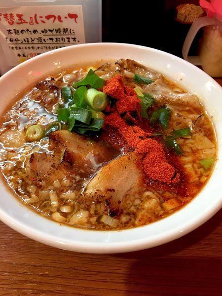 「醤油ラーメン」@辛口炙り肉ソバ ひるドラ 鶴橋店の写真