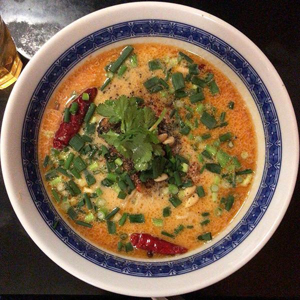 「坦々麺」@餃子荘 紅蜥蜴の写真