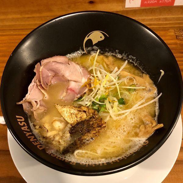 「搾り潮ラーメン (750円)」@オノミチ潮ラーメン でんやすの写真