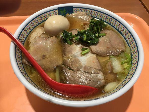 「小チャーシュー煮卵ラーメン」@神座 イオン久御山店の写真