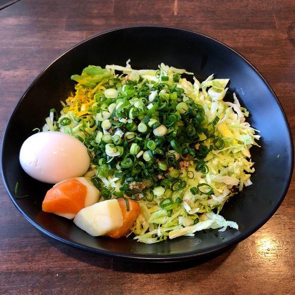 「汁なし担担麺 カレー風味 中 (900円)」@さいふぁの写真