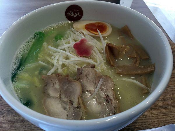 「鷄白湯麺(680円)」@らーめん 福よしの写真