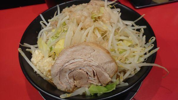 「味噌ラーメン(全増し・ニンニク)」@ジャンクガレッジ 大宮駅前店の写真