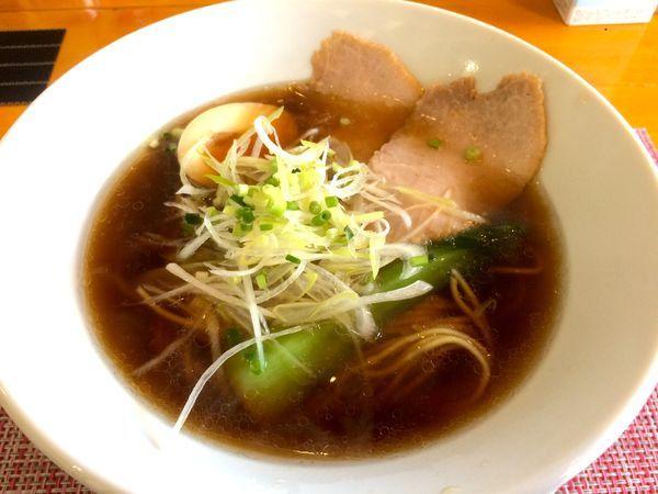 「焼きガラ汁そば醤油(780円)」@汁そば といろの写真