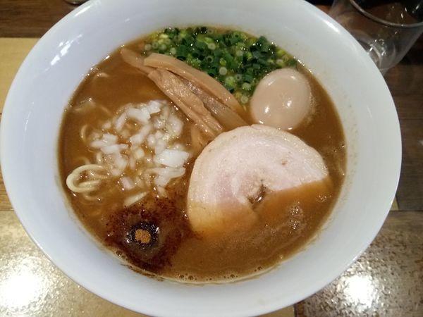 「あじ玉らーめん800円」@らーめん 佳の写真