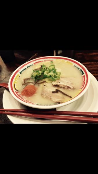 「ぼんしゃん+めんたいこ(¥730+¥150)」@九州じゃんがら 原宿1階店の写真