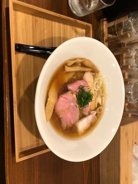 「煮干し醤油ラーメン」@らぁ麺すずむしの写真