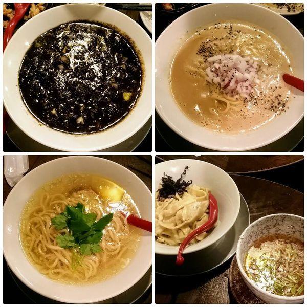「鯛のあえつけ麺他5種」@立ち呑み居酒屋 金町製麺の写真