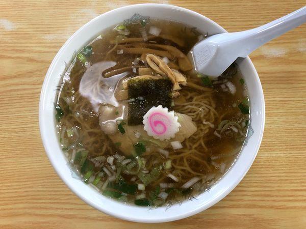 「中華そば」@かわにし食堂の写真