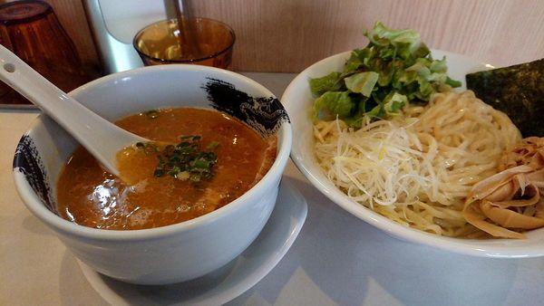 「限定B 塩つけ麺」@麺屋 扇 SENの写真