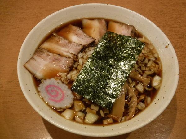 「竹岡式ラーメン中830円」@自家製熟成麺 吉岡の写真