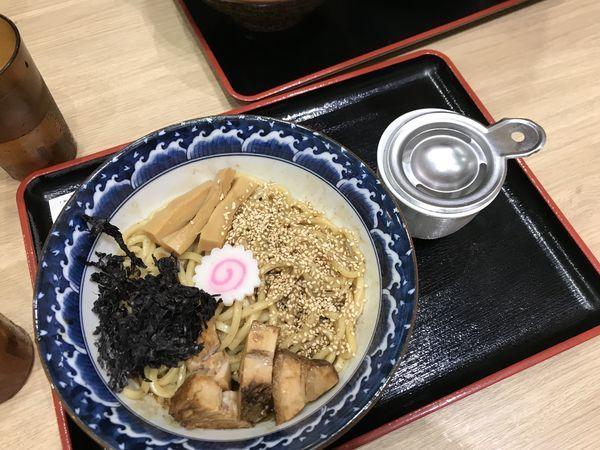 「【平日限定】濃厚豚骨魚介まぜそば」@三竹寿 本店の写真