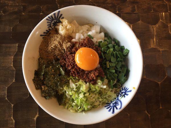 「台湾まぜそば」@特級鶏蕎麦 龍介の写真
