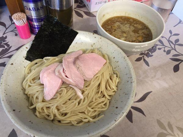 「烏賊つけ麺」@麺工 小烏丸の写真
