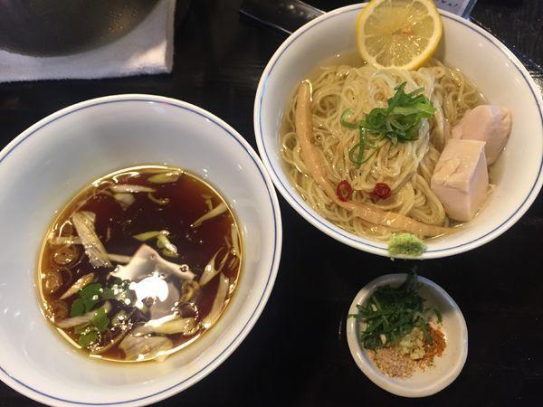 「元祖昆布水つけ麺」@らぁめん矢 ロックンビリースーパーワンの写真