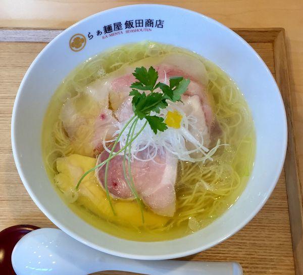 「塩ラーメン」@らぁ麺 飯田商店の写真
