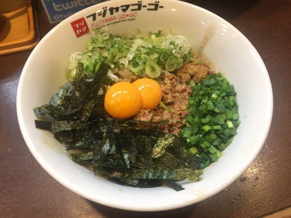 「台湾まぜそば」@つけ麺・ラーメン  フジヤマ55 大須総本店の写真