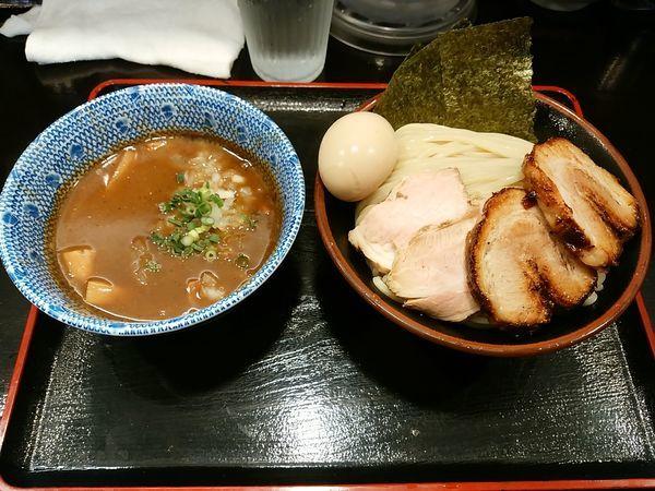 「特製濃厚つけ麺中盛り」@つけ麺 凌駕の写真