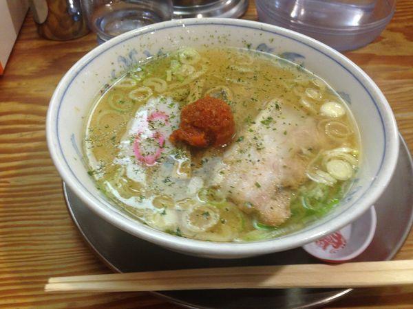 「ミニからみそラーメン(¥570)」@龍上海 新横浜ラーメン博物館店の写真