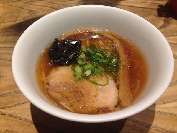 「ミニ醤油らぁめん(¥570)」@支那そばや 新横浜ラーメン博物館店の写真